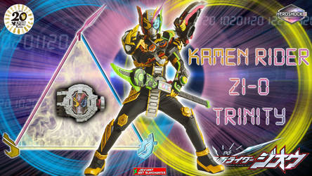 Kamen Rider Zi-O Trinity by blakehunter