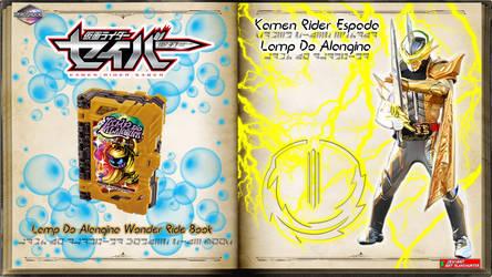 Kamen Rider Espada Lamp Do Alangina