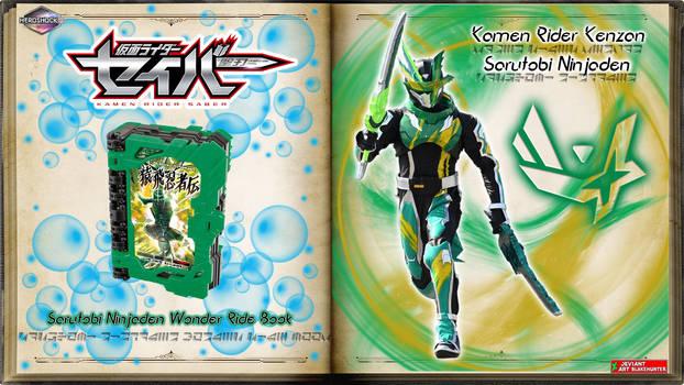Kamen Rider Kenzan Sarutobi Ninjaden