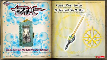 Kamen Rider Saikou Kin No Buki Gin No Buki