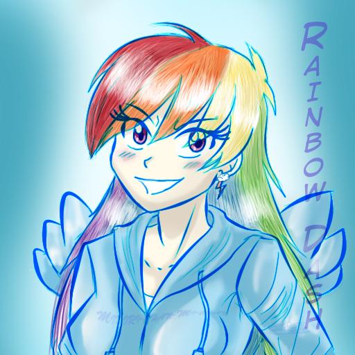 Rainbow Dash Mlp__rainbow_dash_by_midori_chan_mi_chan-d55t66f