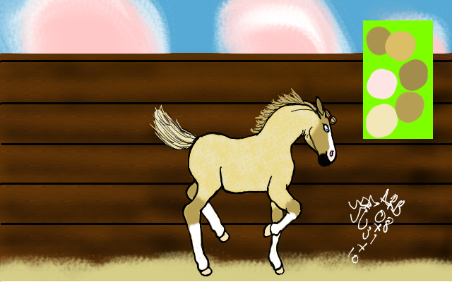 RES Sweet Seranade foal ref by ChestnutGroveAdopts