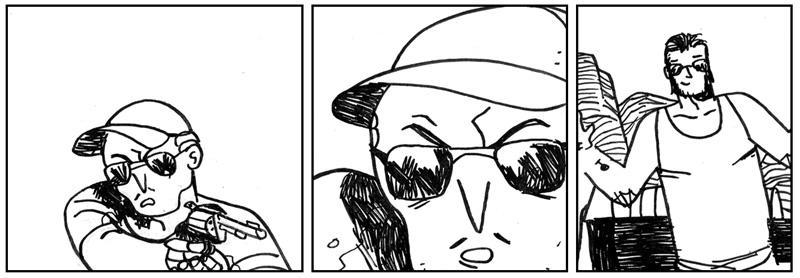 Extracto pagina 21 webcomic SICARIOS