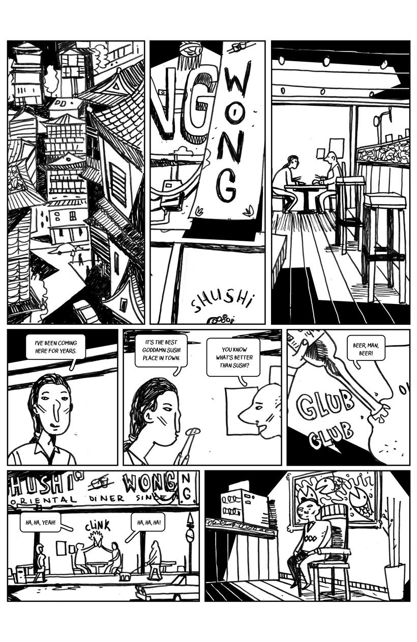STREET TIGER #1: Masquerade (Pag 1 - 8)