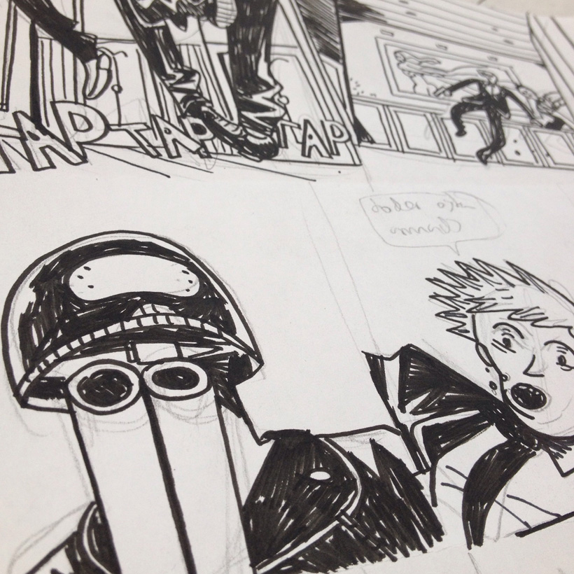 Panels from Street Tiger issue 2