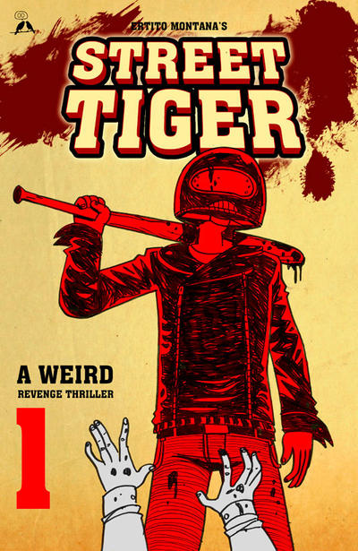 Street Tiger #1 is now in pre-order by ErtitoMontana
