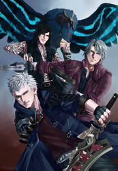 Devil May Cry 5 by Worldend-Dominator
