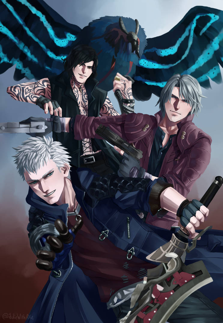 Devil May Cry 5 By Worldend Dominator On Deviantart