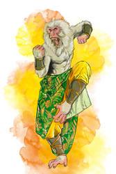 Monkey monk