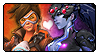 OW: Tracer x Widowmaker by Reykholtz