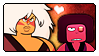 SU: Jasper x Eyeball Ruby by Reykholtz