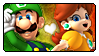 SMB: Luigi x Daisy by Reykholtz
