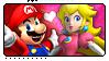 SMB: Mario x Peach by Reykholtz