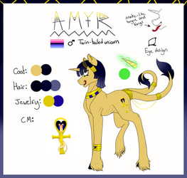 Prince Amyr Official Reference Sheet