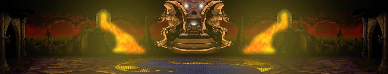 Stage koncept: Netherrealm throne
