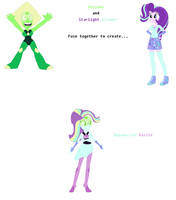 Peridot and Starlight Glimmer Fusion by JanethePegasus