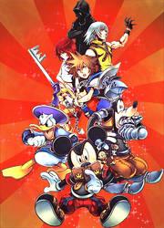 Kingdom Hearts Re Coded by xSuperPunkMariox