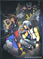 Kingdom Hearts 3D: dream drop distance by xSuperPunkMariox