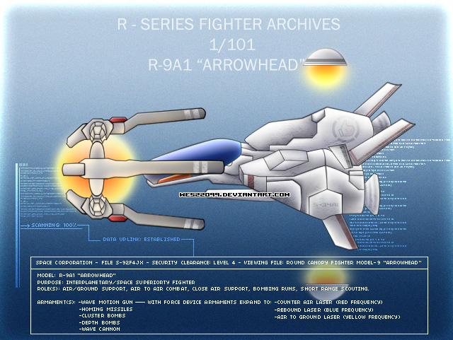 R-9A 'Arrowhead' by Wes2299