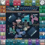 SciFi Monopoly Board