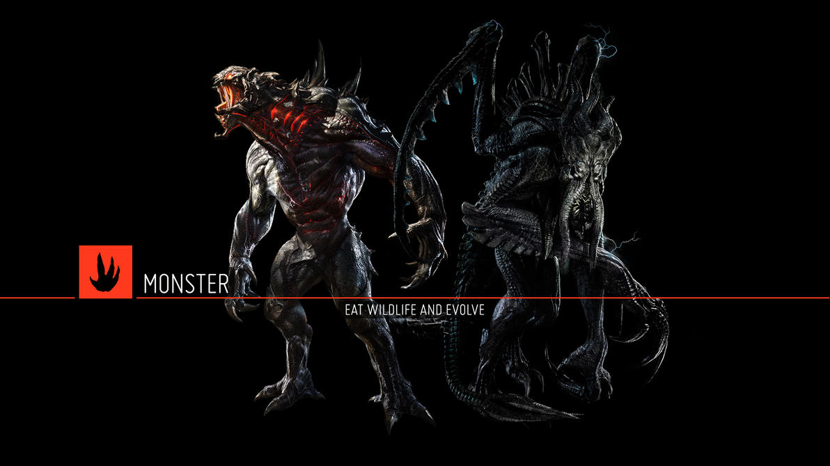 Evolve - The Monsters by Wes2299