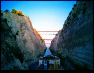 Corinth canal by ofeliq