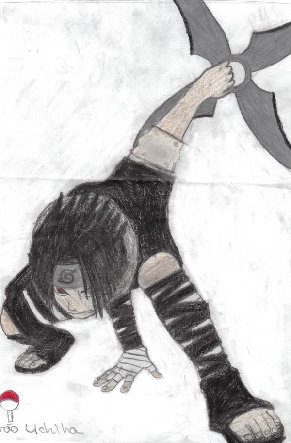 Sasuke demon wind shuriken by masuraouchiha on deviantart - Sasuke uchiwa demon ...