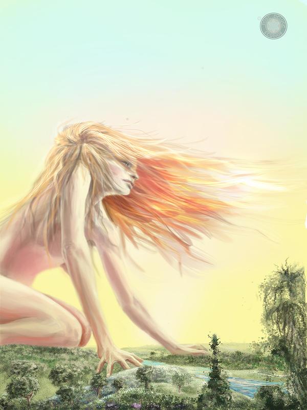 Giantess by TheELDiluvian