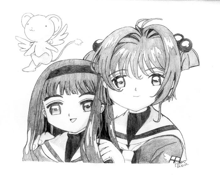 fReNdz 4eVeR: sakura + tomoyo by pandaandpotato
