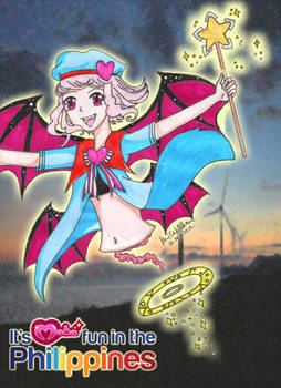 Magical Girl. It's MAHA Fun In the Philippines.