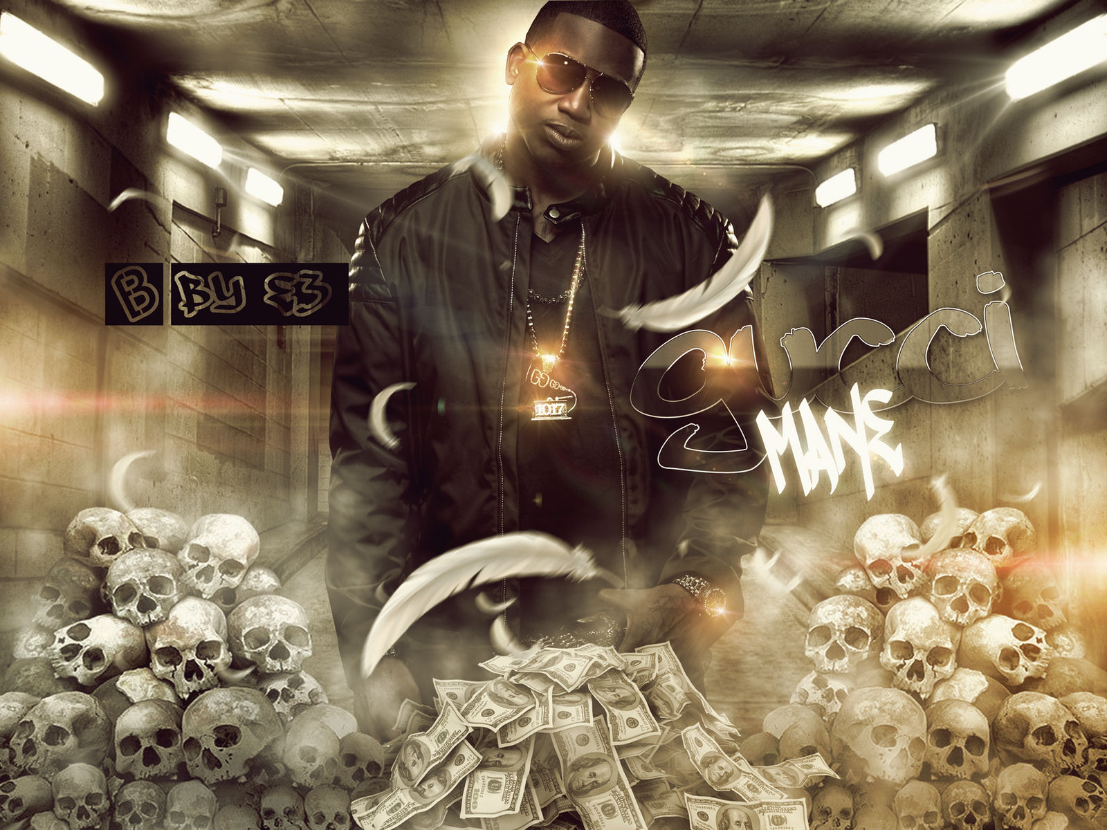 GUCCI MANE MIXTAPE COVER by RED-1-E-THREE on DeviantArt