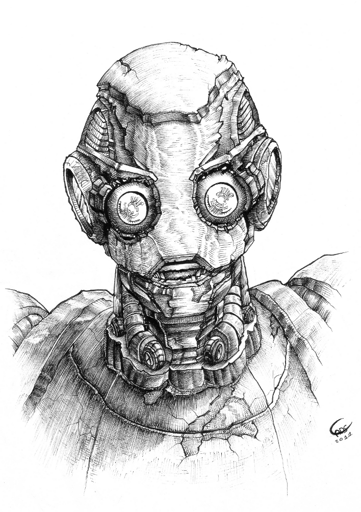 Old Robot by Neoconvoy...
