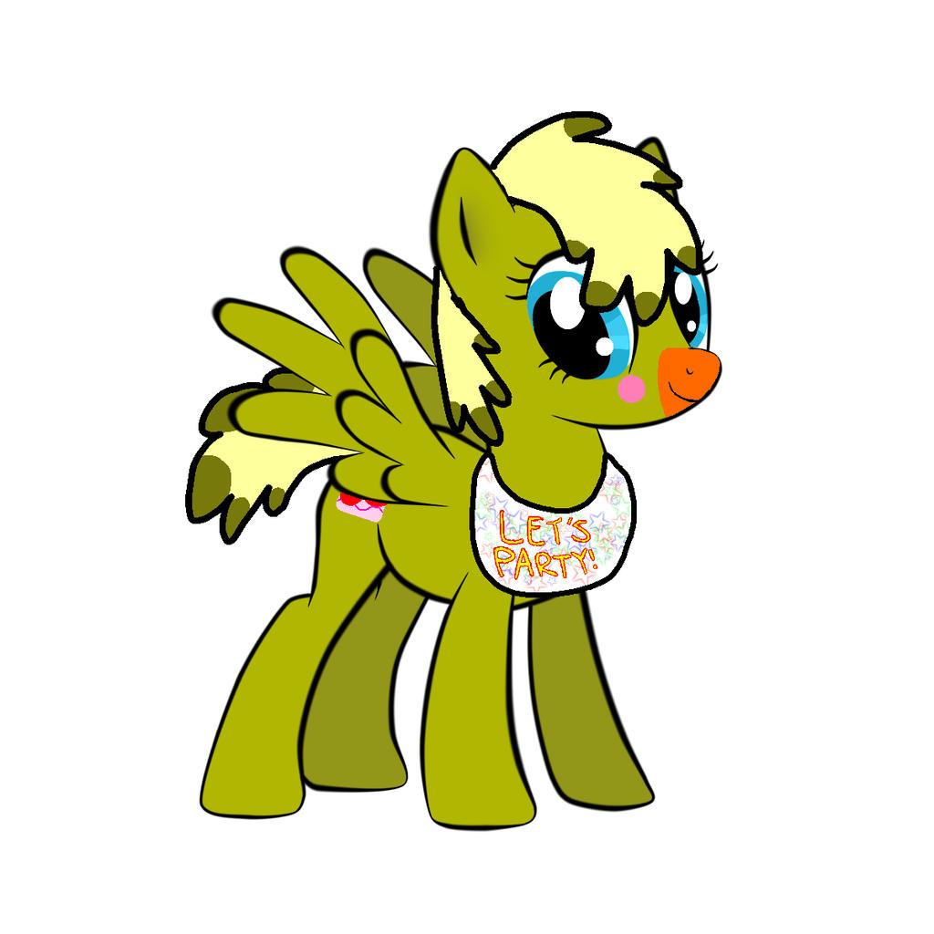 Toy chica pony by spirtsshadows on deviantart