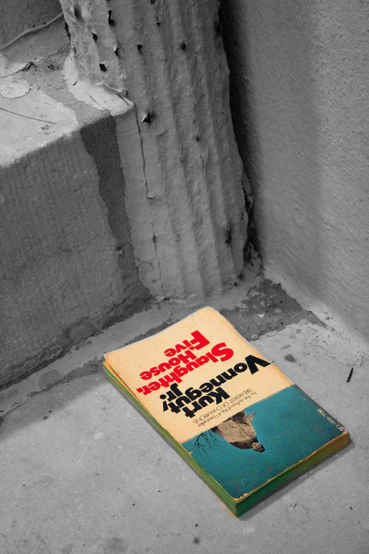 Slaughterhouse Five on the church steps by montellano