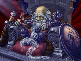 Iron Dwarf by Sumerky