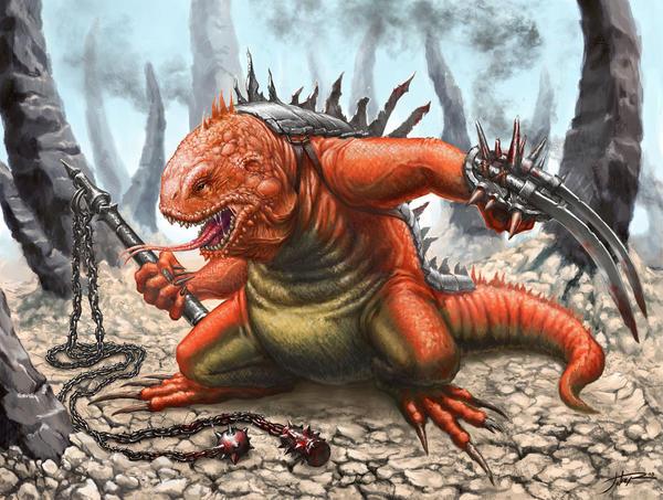 Lizard by Sumerky