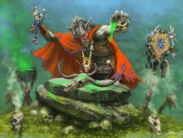 Troll-Shaman by Sumerky