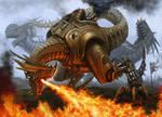 Steampunk dinosaurs