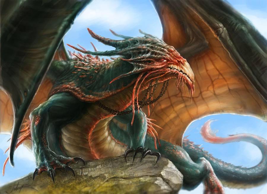 Dragon by Sumerky