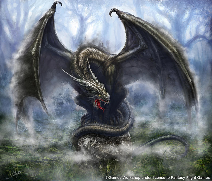 Mist Dragon by Sumerky