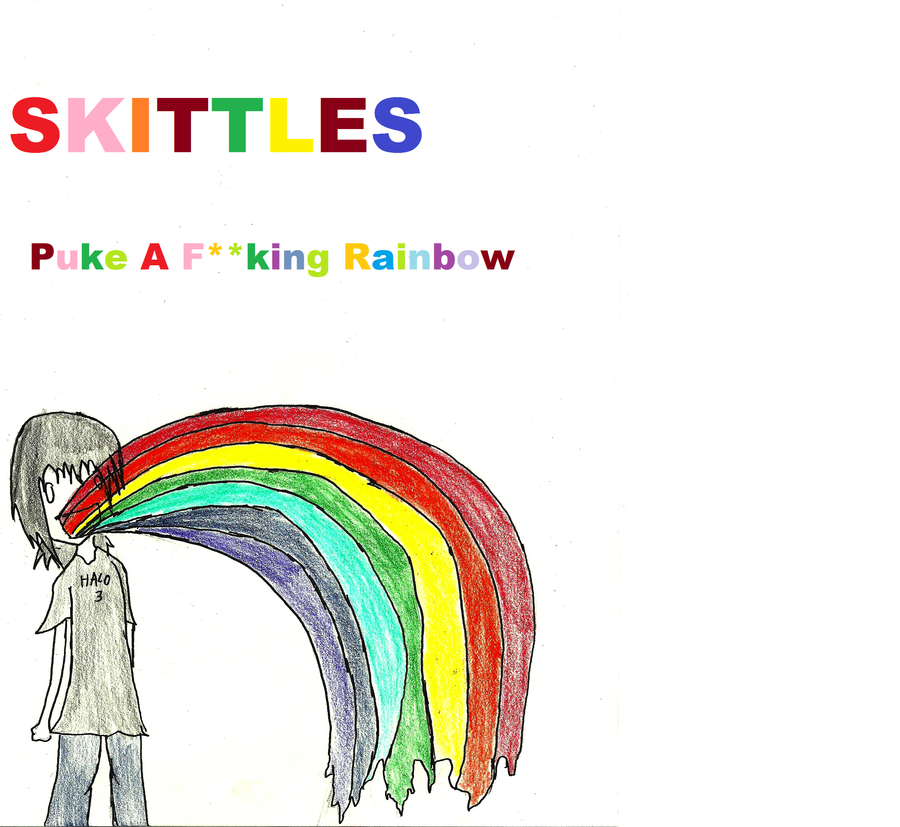 Skittles Taste The Rainbow By Godropdead