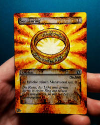 Sol Ring altered by Hasslord by Hasslord