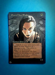 Elves of Deep Shadow altered by Hasslord by Hasslord
