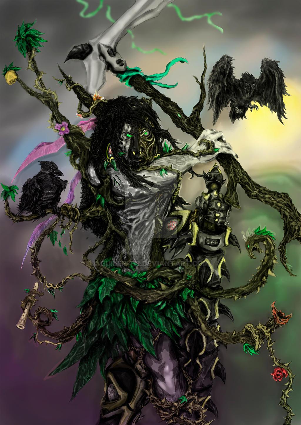 God of Blindfolded Justice by Guiler-717