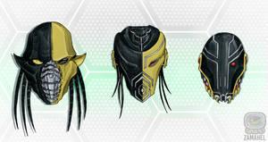 INKtober day 31: Masks