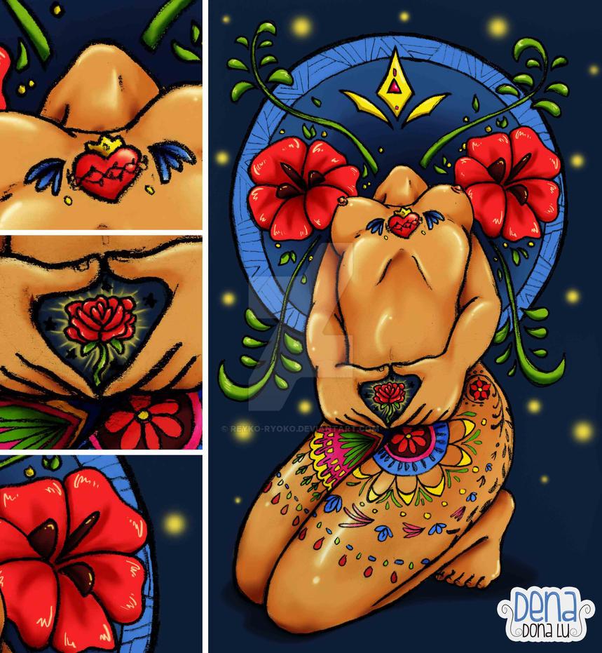 UN CORAZON PARA UNA ROSA by Reyko-Ryoko