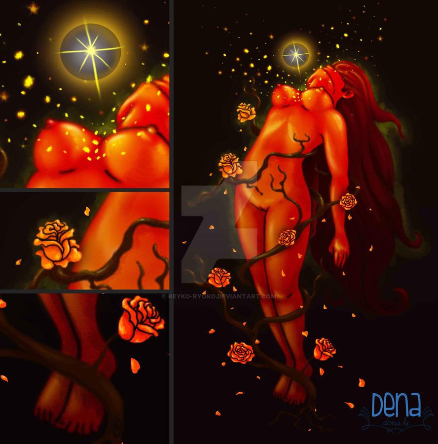 Rosas de fuego by Reyko-Ryoko
