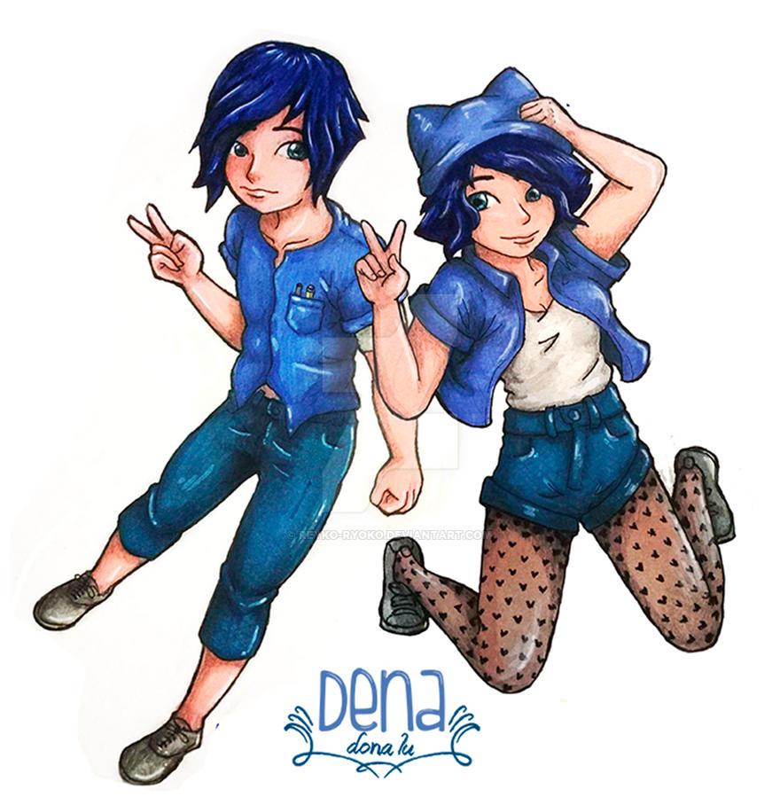 Reyko y Ryoko by Reyko-Ryoko