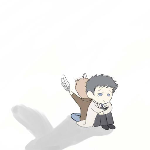 Supernatural - Let me be your wings - Dean & Castiel - G Let_me_be_your_wings____by_reversedcross-d41tr7a