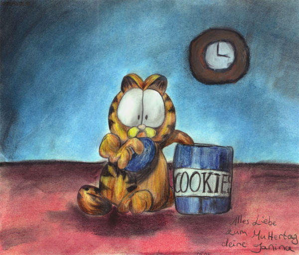 Garfield by LucerasNight
